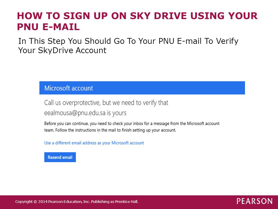 HOW TO SIGN UP ON SKY DRIVE USING YOUR PNU E-MAIL