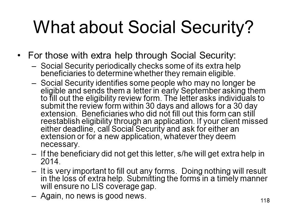 What about Social Security