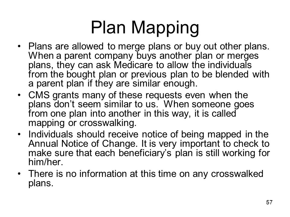 Plan Mapping