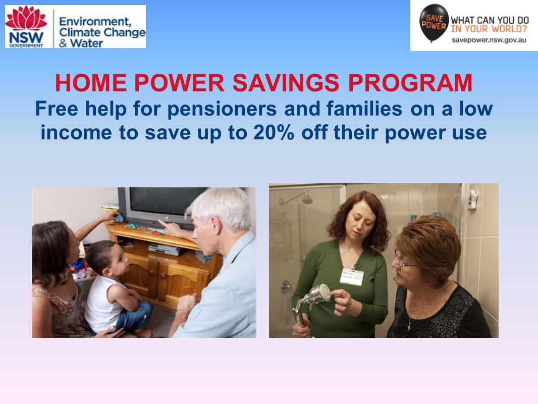 HOME POWER SAVINGS PROGRAM