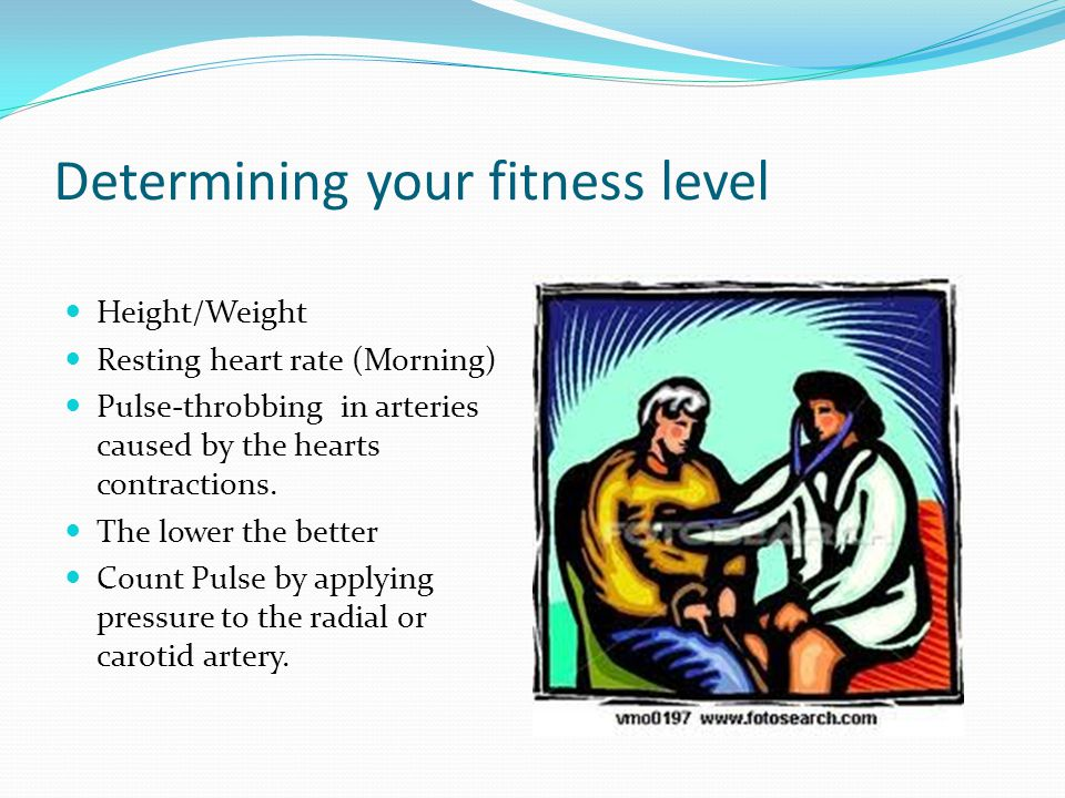 Determining your fitness level