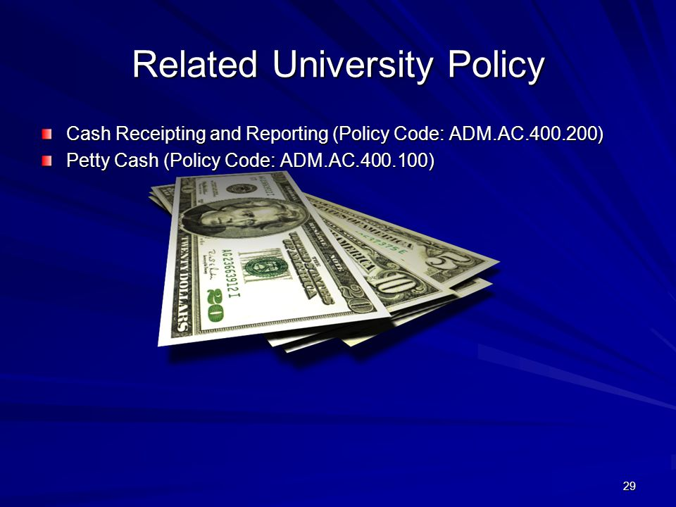 Related University Policy