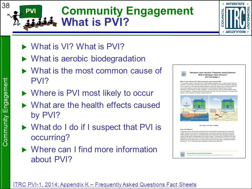 Community Engagement What is PVI