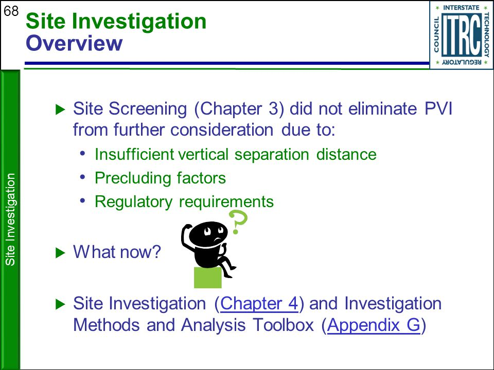 Site Investigation Overview