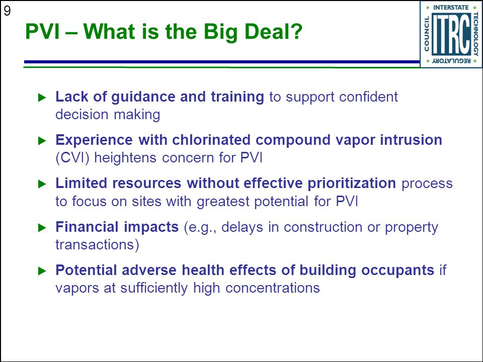 PVI – What is the Big Deal