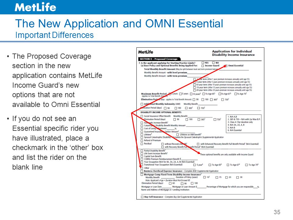 The New Application and OMNI Essential Important Differences