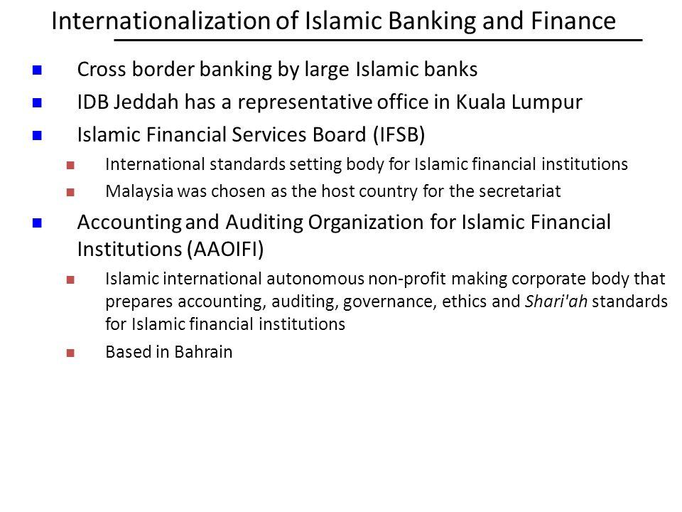 Internationalization of Islamic Banking and Finance