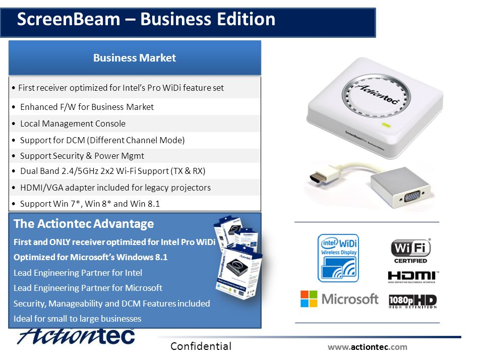 ScreenBeam – Business Edition