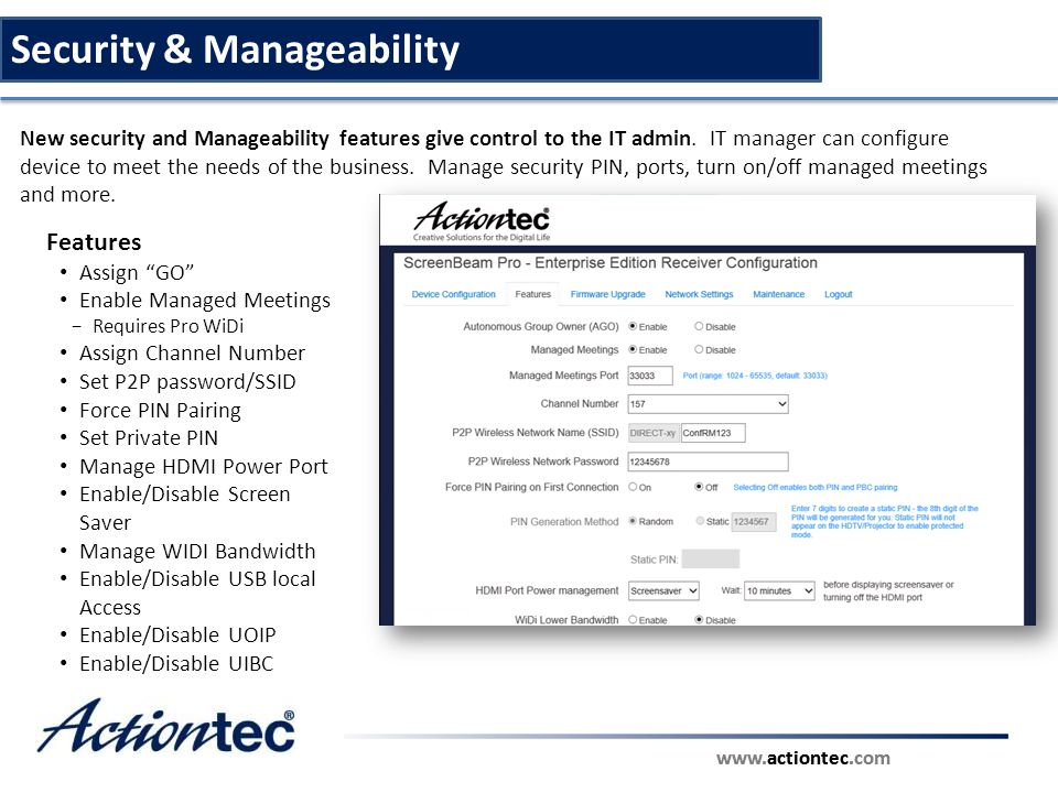 Security & Manageability