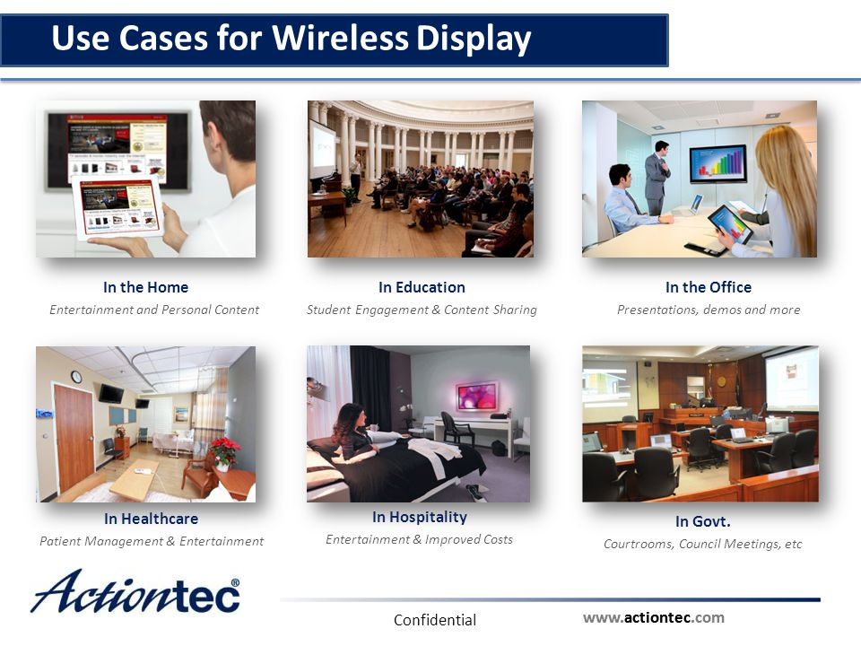 Use Cases for Wireless Display