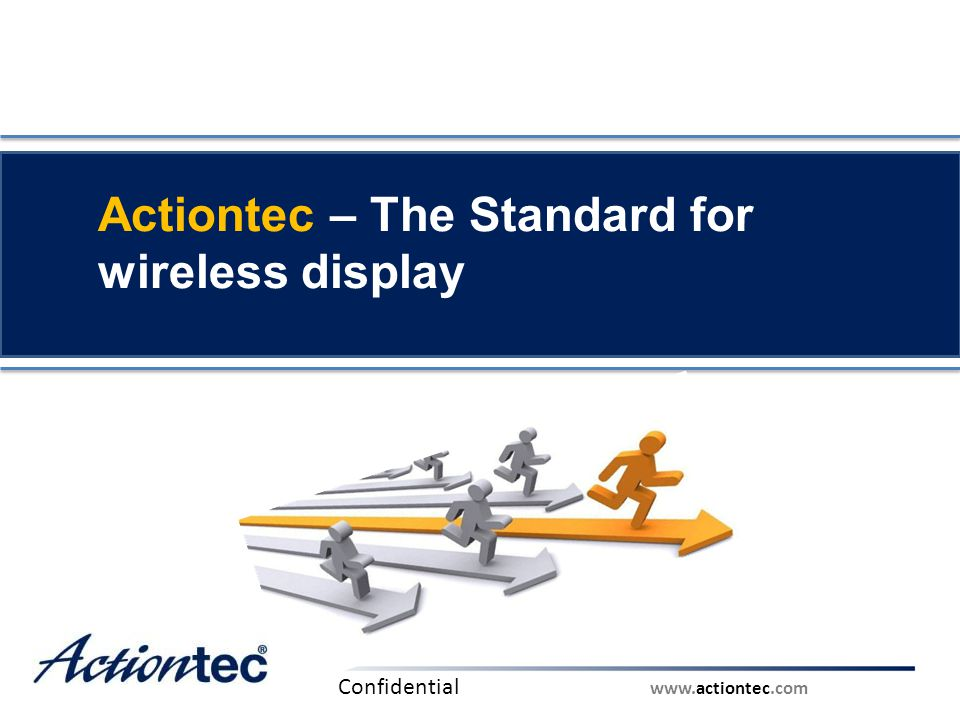 Actiontec – The Standard for wireless display