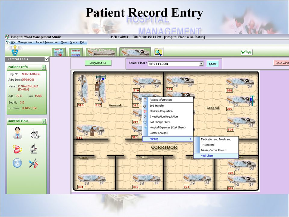 Patient Record Entry