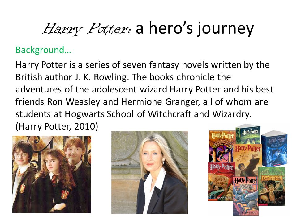 Harry Potter: a hero's journey
