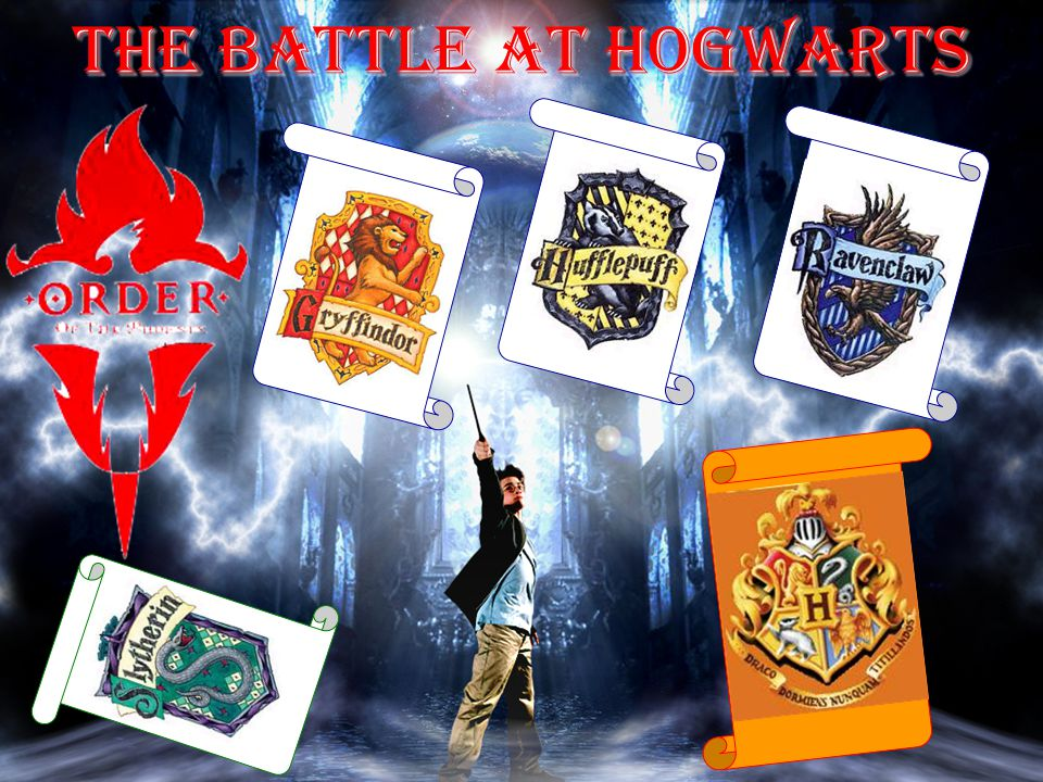 The Battle at Hogwarts