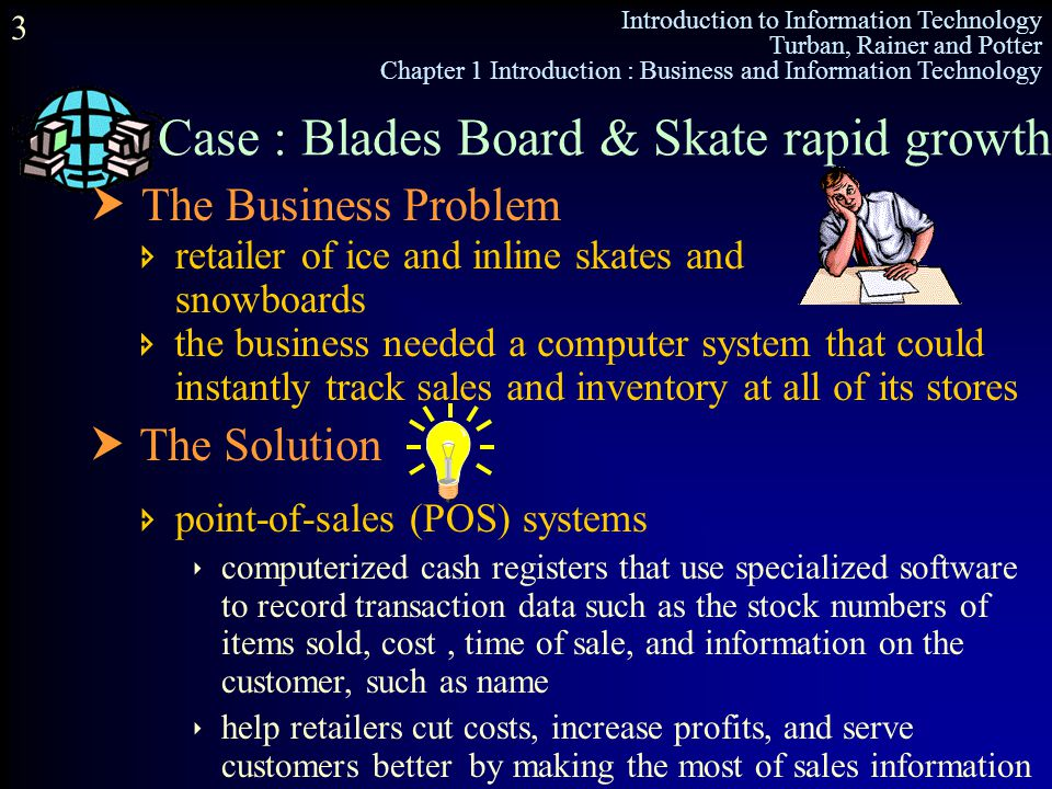 Case : Blades Board & Skate rapid growth