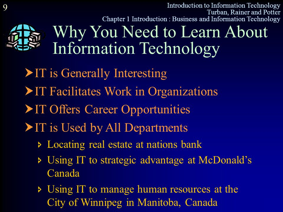 Why You Need to Learn About Information Technology