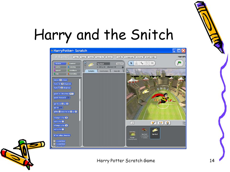 Harry Potter Scratch Game