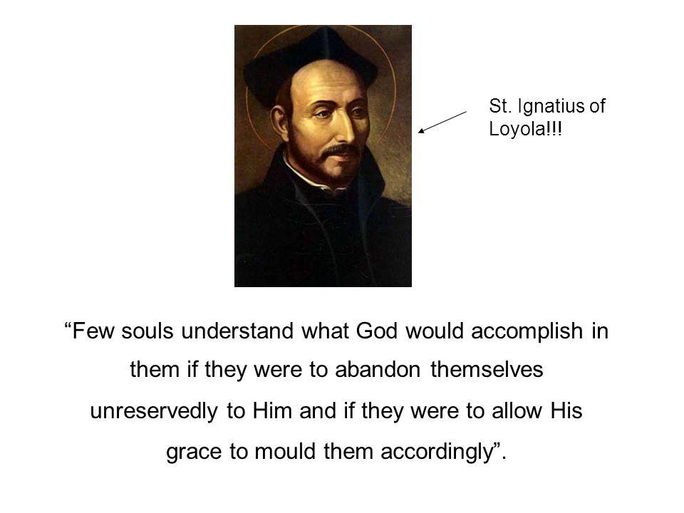St. Ignatius of Loyola!!!