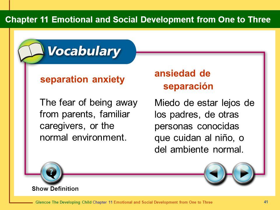 ansiedad de separación separation anxiety