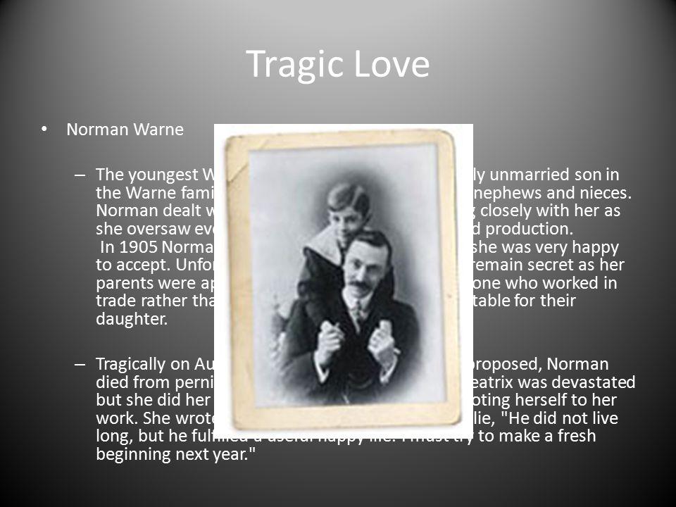 Tragic Love Norman Warne