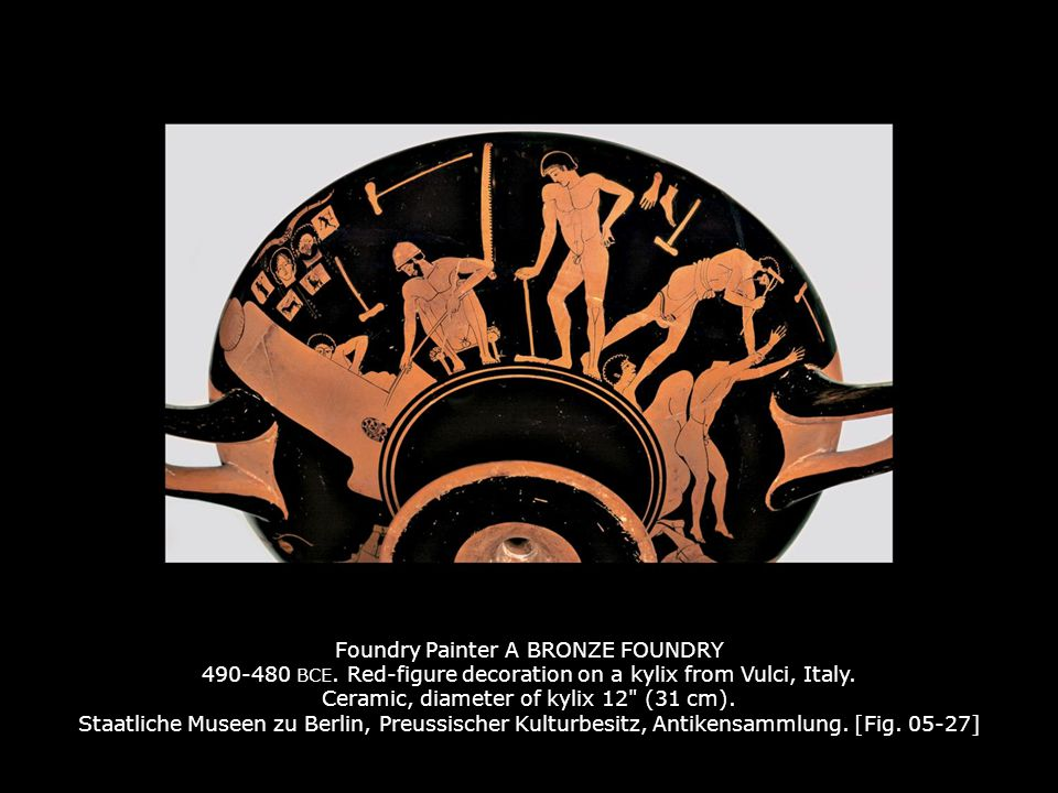 Foundry Painter A BRONZE FOUNDRY 490-480 BCE