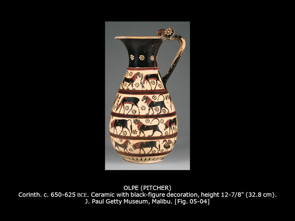 OLPE (PITCHER) Corinth. c. 650-625 BCE