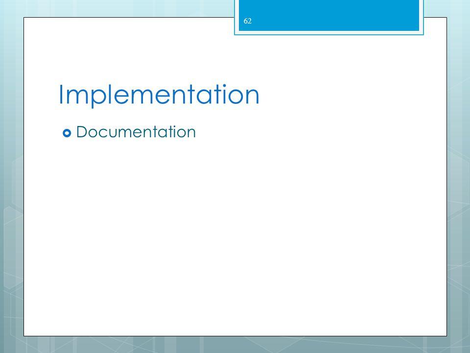 Implementation Documentation