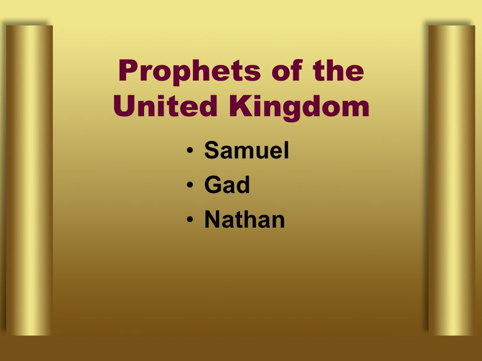 Prophets of the United Kingdom