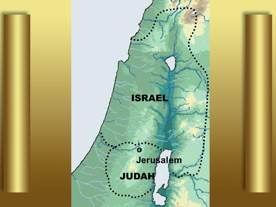 ISRAEL  Jerusalem JUDAH