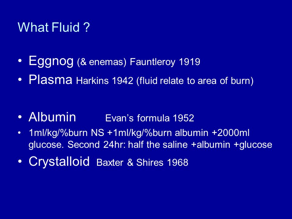 Eggnog (& enemas) Fauntleroy 1919