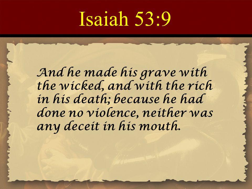 Isaiah 53:9