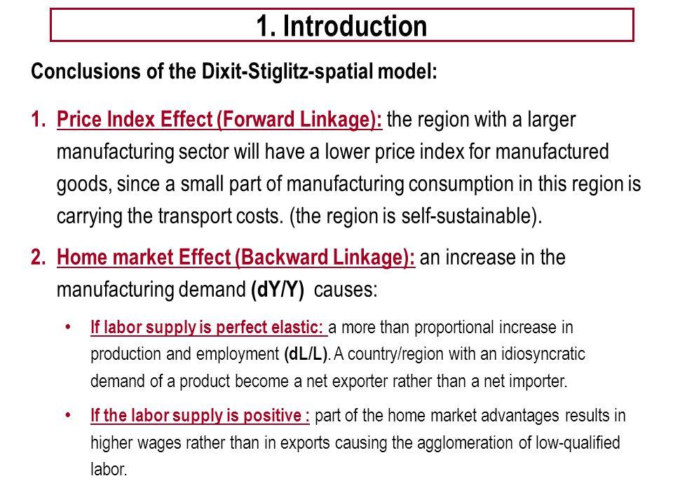 Gobalización, comercio internacional y economía geográfica