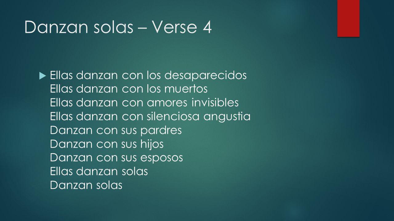 Danzan solas – Verse 4