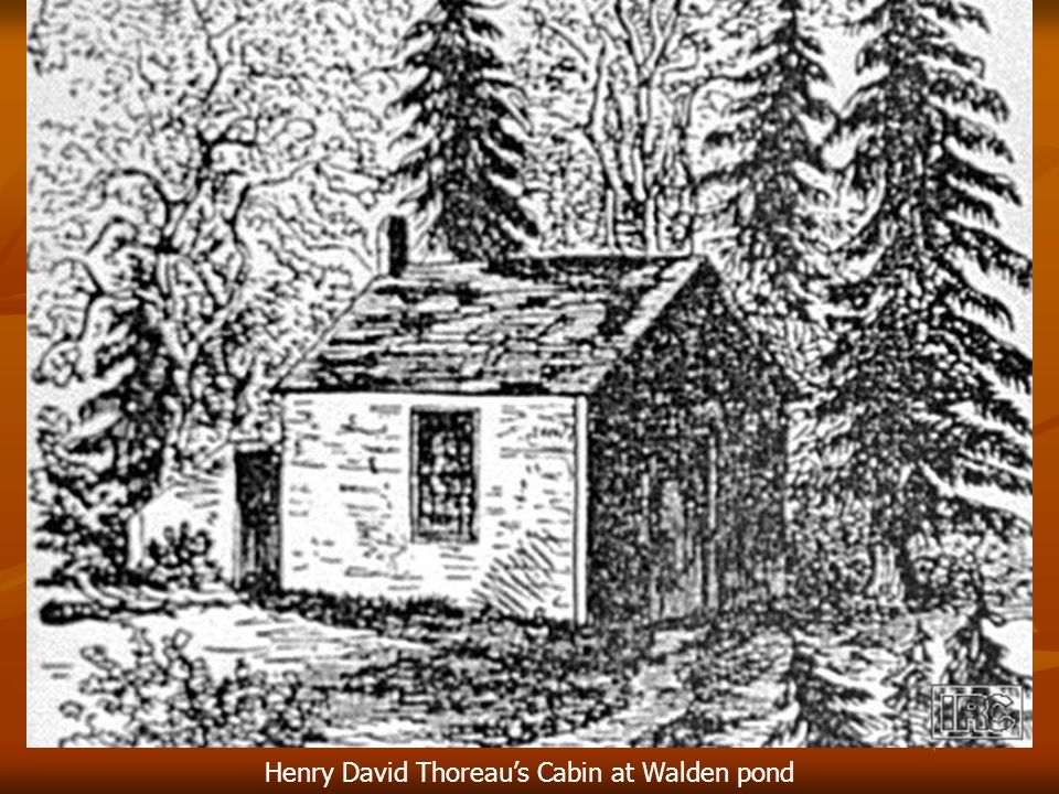 Henry David Thoreau's Cabin at Walden pond