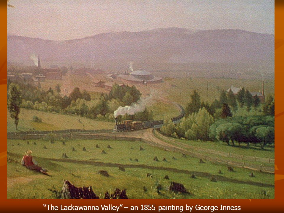 The Lackawanna Valley – an 1855 painting by George Inness