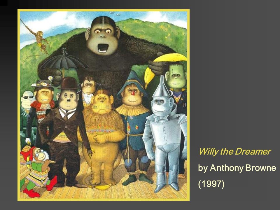 Willy the Dreamer by Anthony Browne (1997)