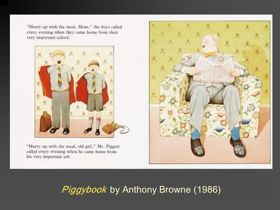 Piggybook by Anthony Browne (1986)