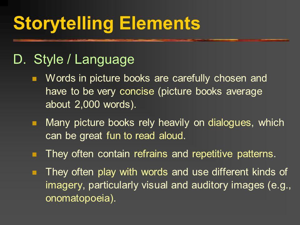 Storytelling Elements