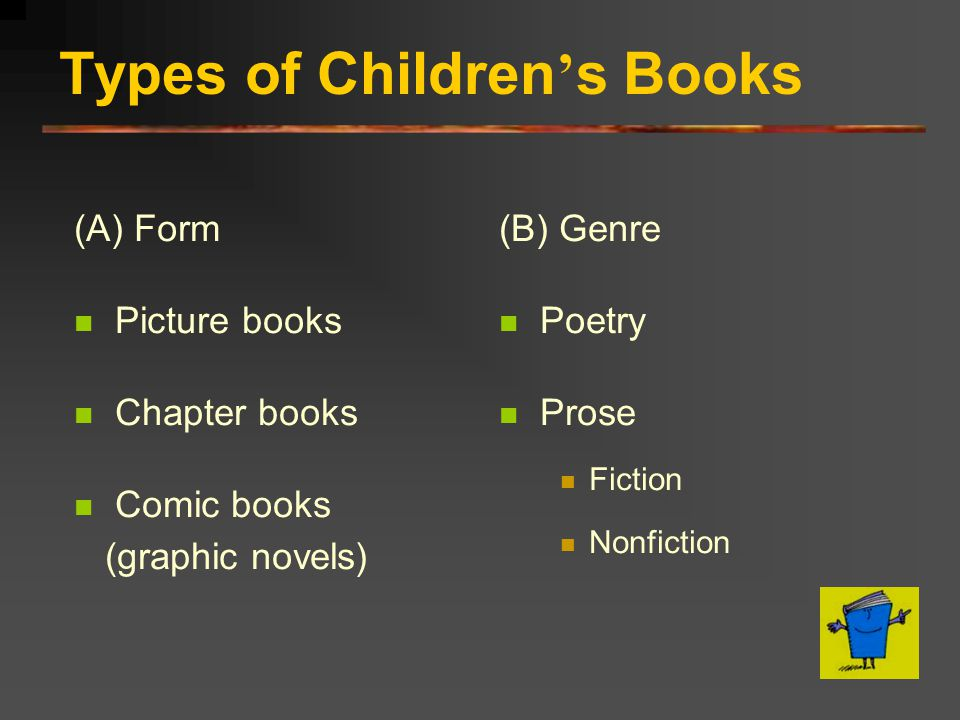 Types of Children's Books