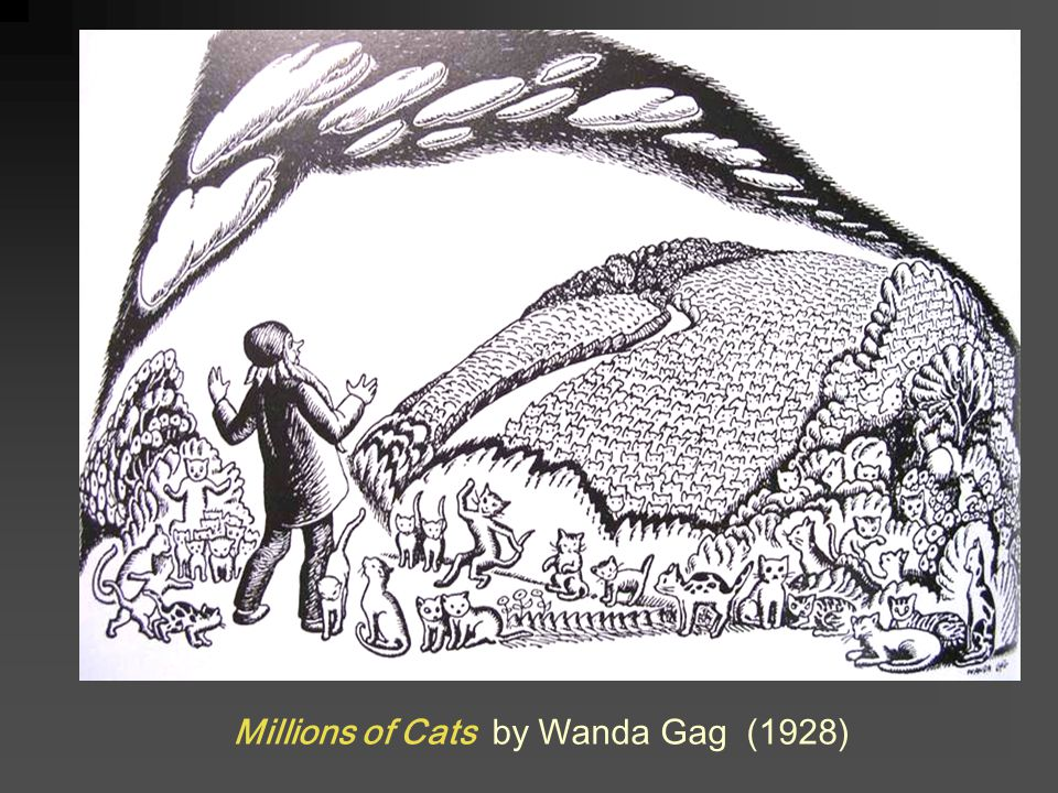 Millions of Cats by Wanda Gag (1928)