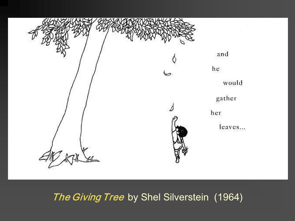 The Giving Tree by Shel Silverstein (1964)