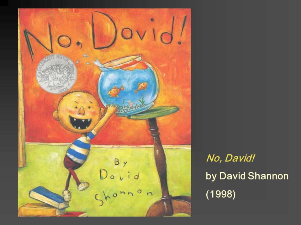 No, David! by David Shannon (1998)