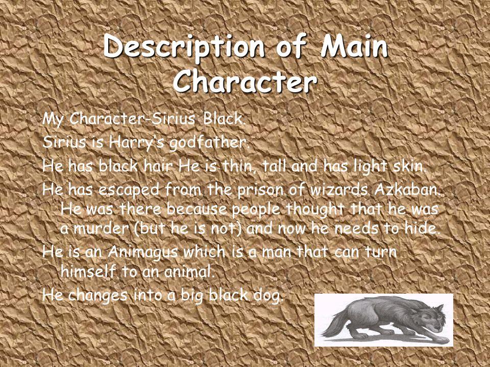 Description of Main Character