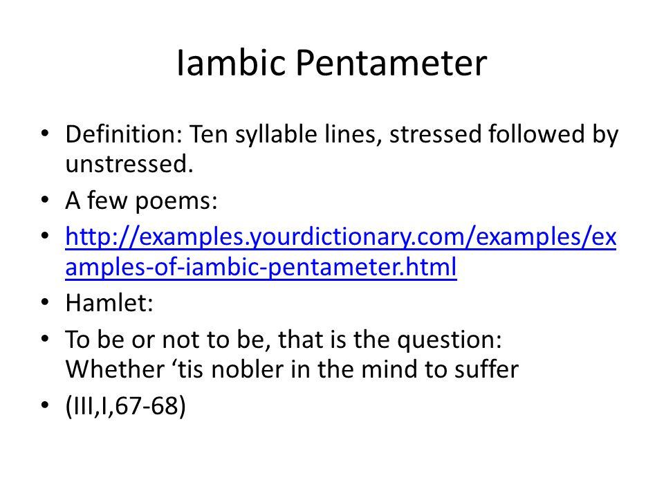 Iambic-pentameter-worksheet & Iambic Pentameter Worksheet ...