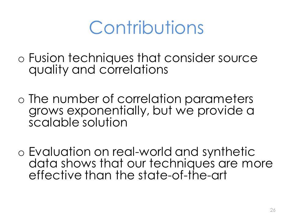 The data fusion problem