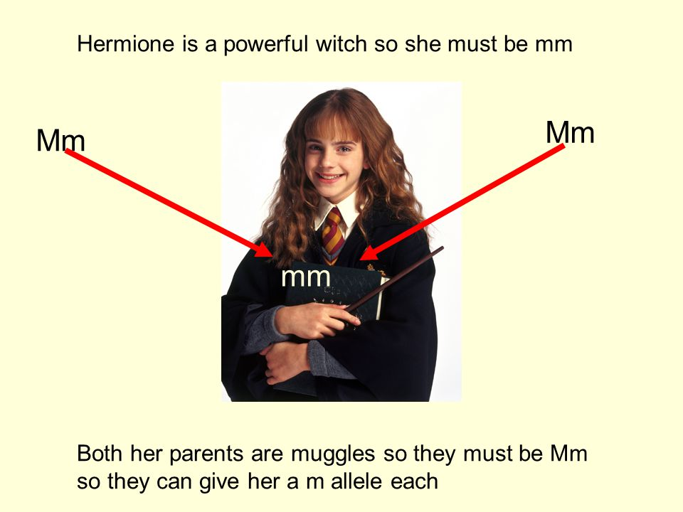 Mm Mm mm Hermione is a powerful witch so she must be mm