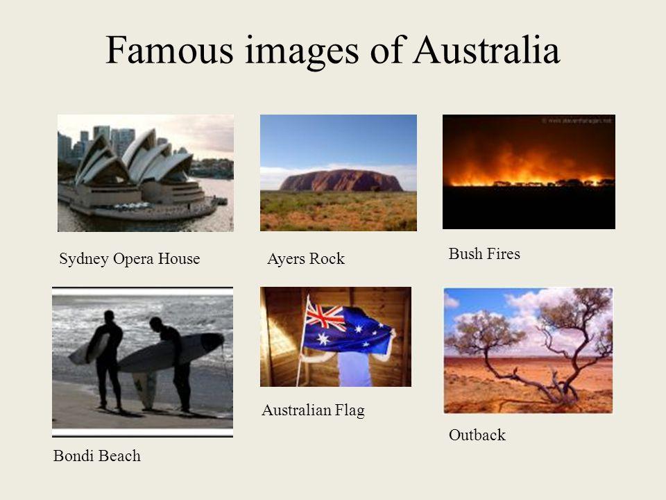Famous images of Australia