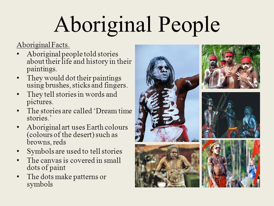 Aboriginal People Aboriginal Facts.