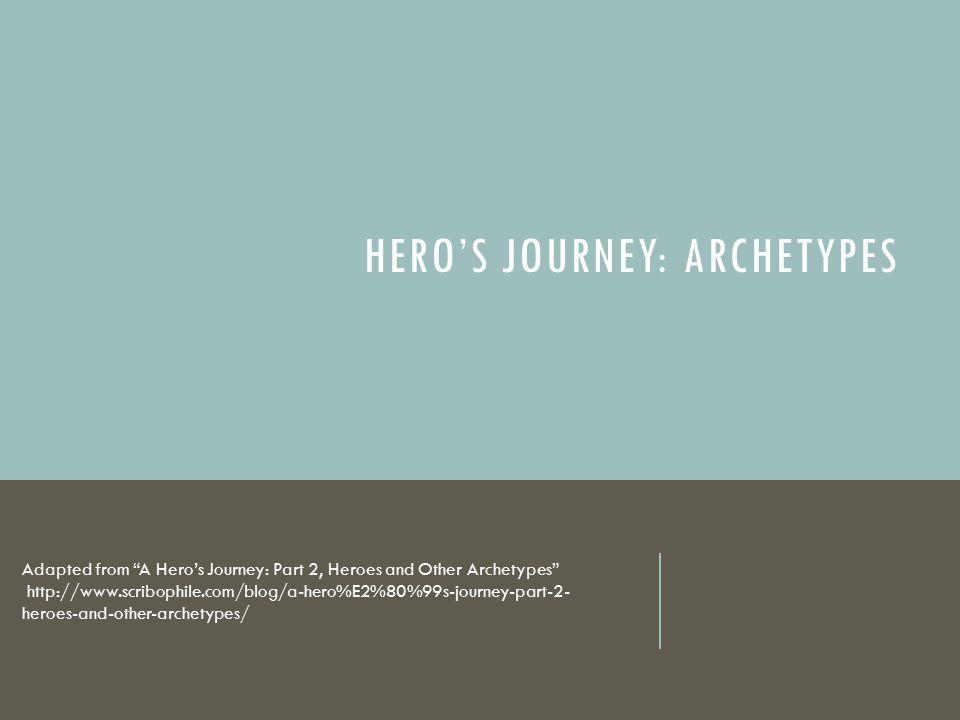 Hero's Journey: Archetypes