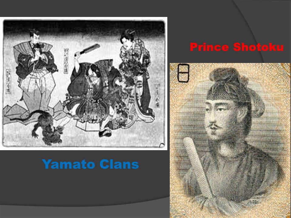Prince Shotoku Yamato Clans